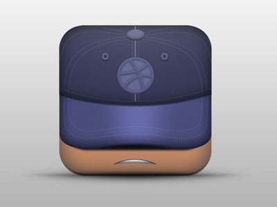 Dribbble Cap iOS icon
