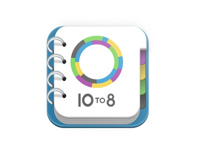 10 To 8 App icon