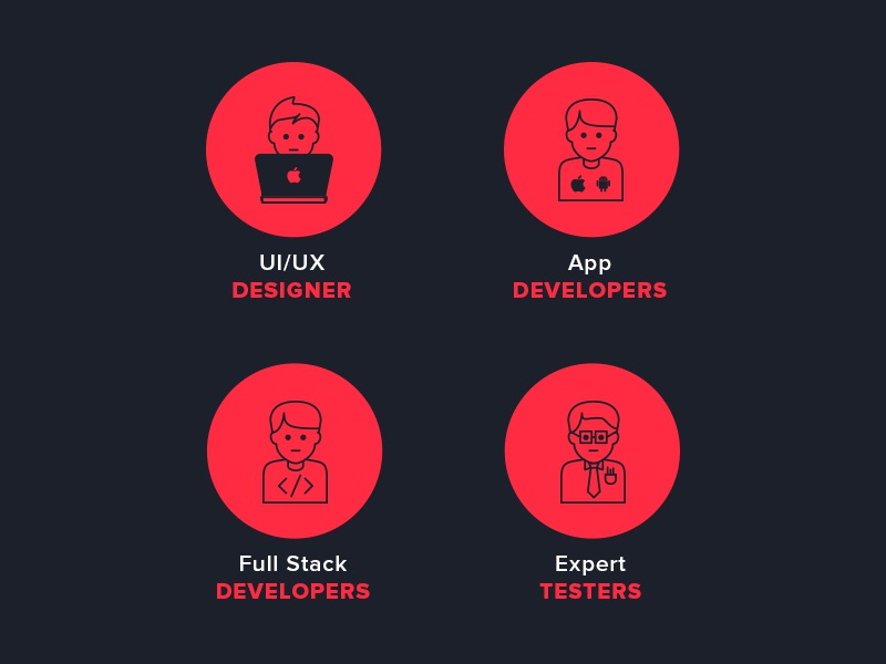 icons icons icon design ui designer developer clean app tester stroke icons app design full stack