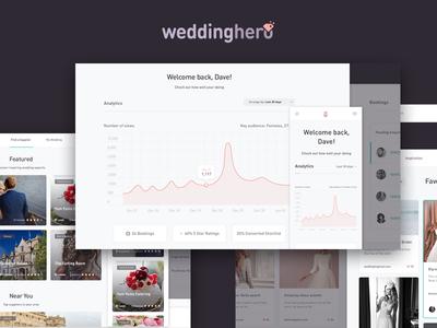 Weddinghero UI & Dashboard