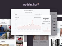 Weddinghero UI & Dashboard