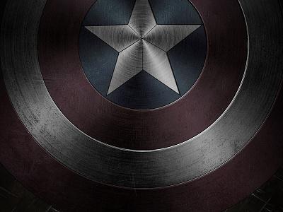 Captain America graphicdesign design photoshop dribbble marvel captain america dark shield graphic design captain america captain america movie america shield captain america shield