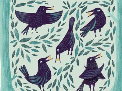 Crow poses