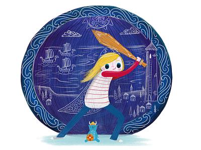 Tales of Vikings story viking illustration tales