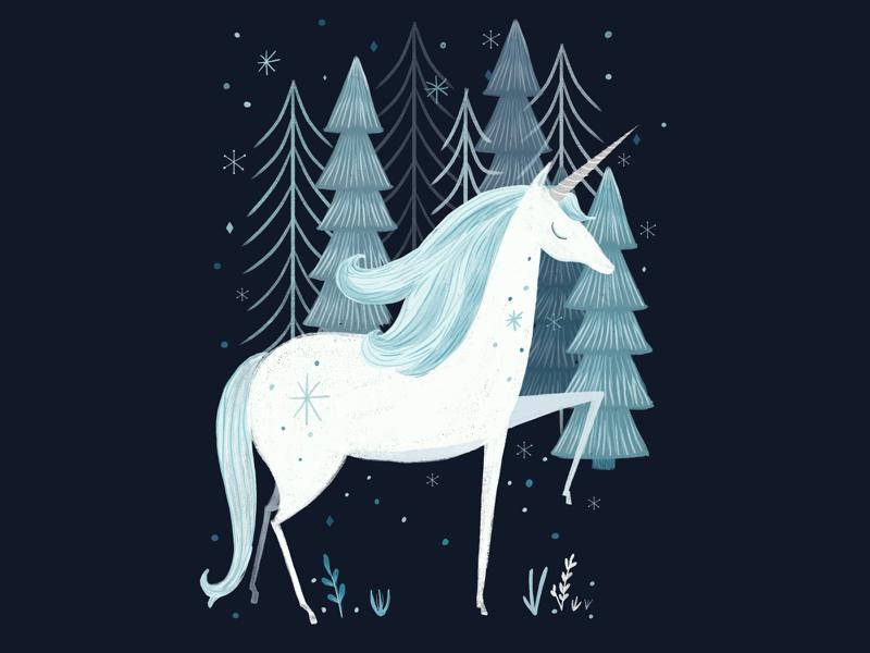 Sparkly unicorn unicorn