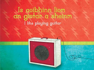 Playing guitar2
