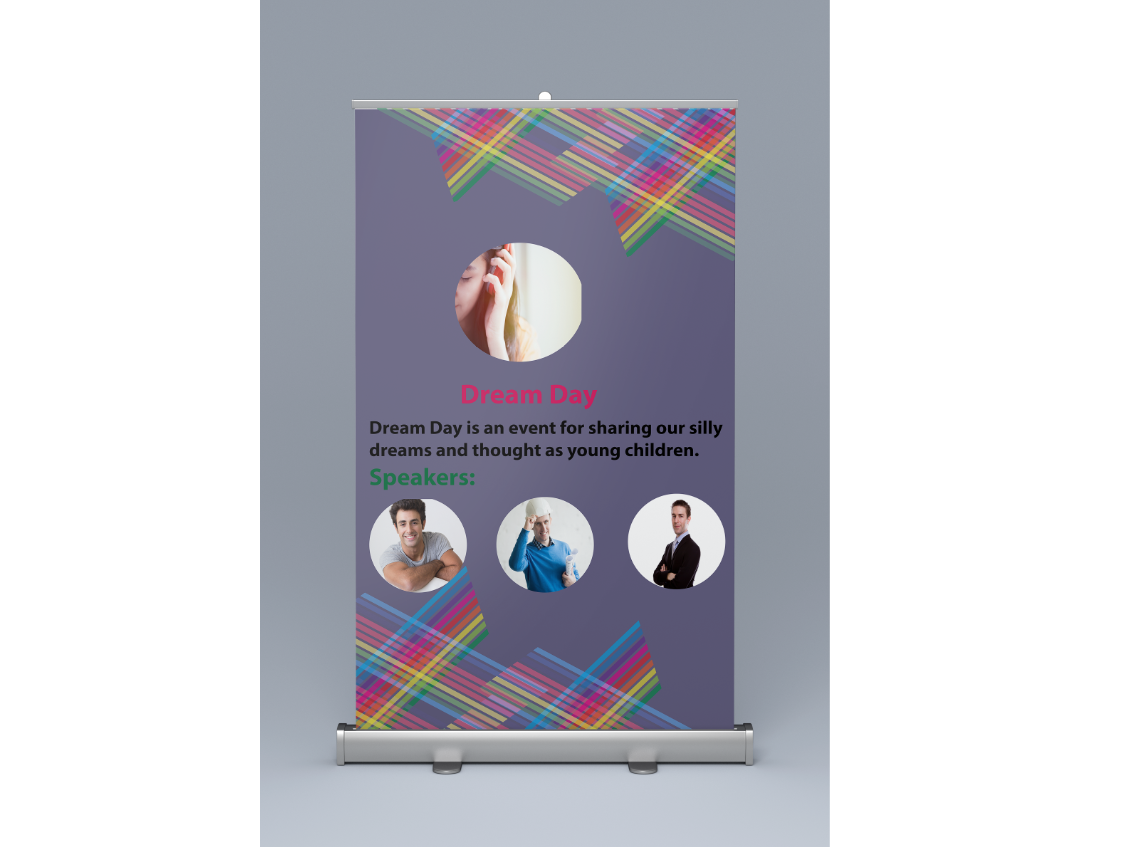 Roll up design roll rollup banner rollup