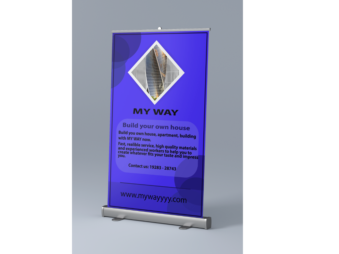 Roll up design rollup banner up roll rollup