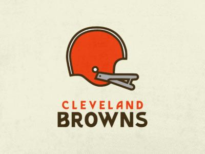Cleveland Browns retro football nfl football browns cleveland cleveland browns