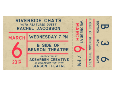Riverside Chats: Rachel Jacobson omaha