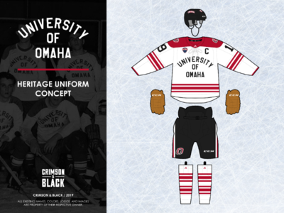 Omaha Mavericks Heritage Uniform Concept