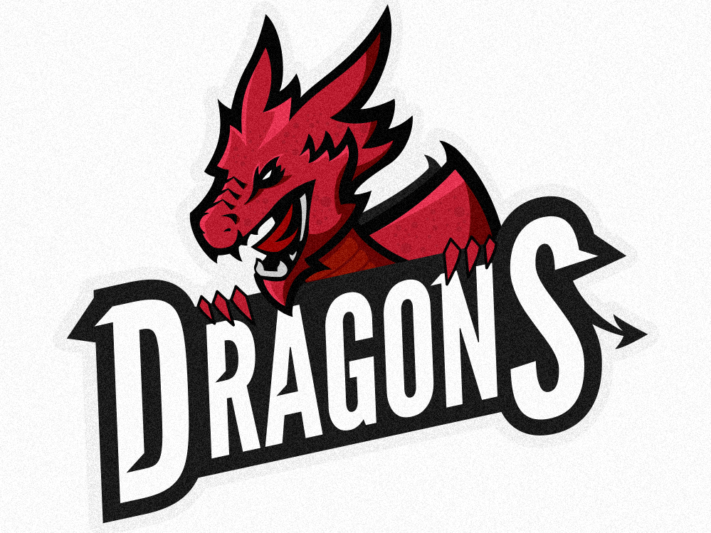 dragons logo by kyle palm