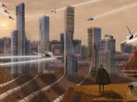 Futuristic Desert