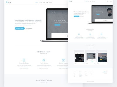 Sempy Themes website services products wordpress templates ux ui themes sempy