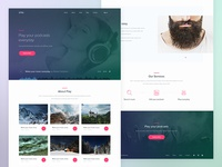 Play — Podcast Landing Page