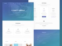 One Page — Portfolio Theme