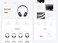Store Landing Page