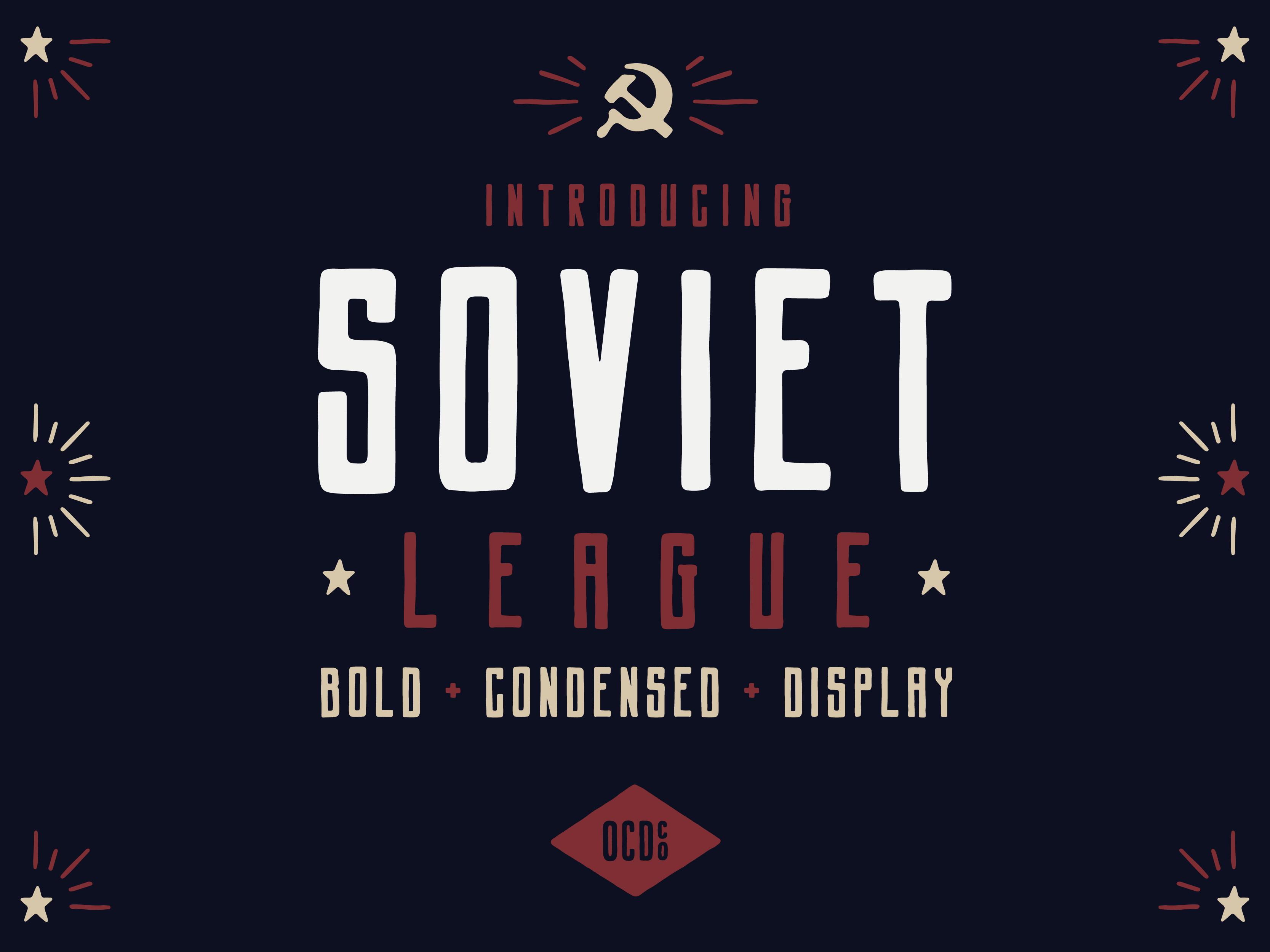 Sovietleague label 01
