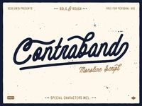 Free font - Contraband