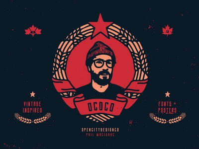 Self-portrait brutalist communism communist soviet canada texture free grunge texture font family vintage band art font logo branding vector poster art hand-drawn typography design illustration