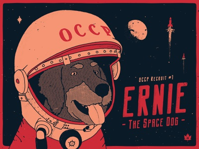 Good boy communism canada texture grunge texture font family logo branding font vintage cosmonaut space soviet band art dog art vector poster art hand-drawn typography design illustration