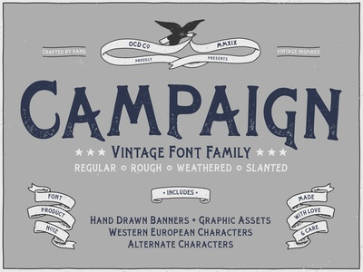 Campaign Typeface