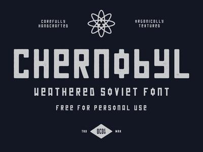 FREE FONT - Chernobyl