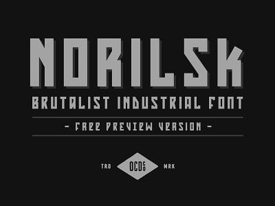 Happy Cyber Truck Monday vector typography design font industrial brutalist