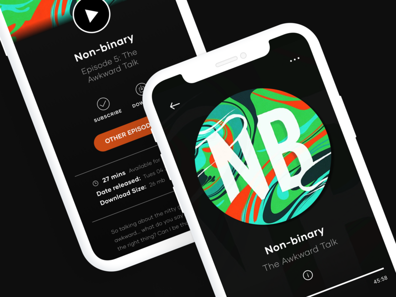 Podcast app by Lucky Duck on Dribbble