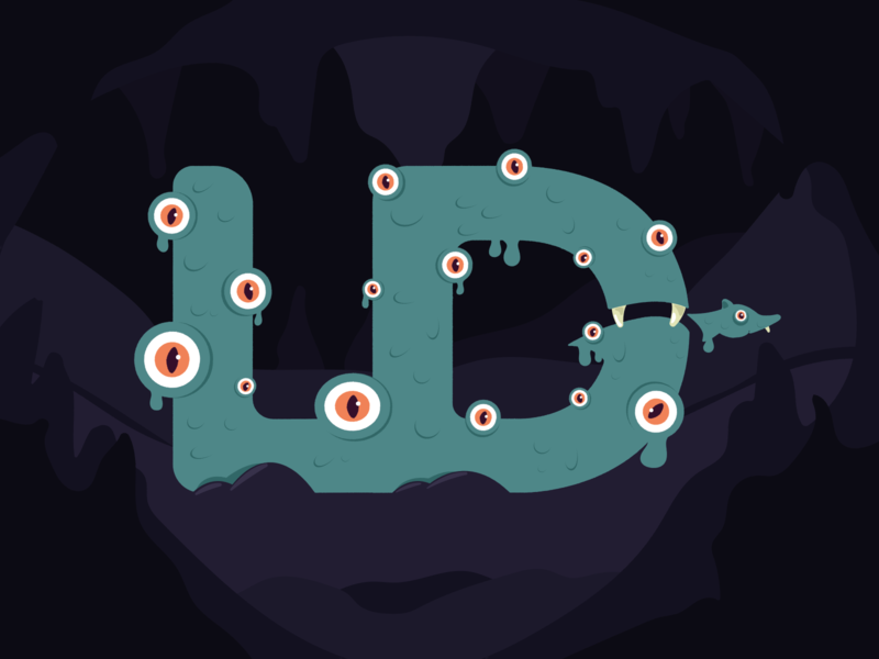 Happy Halloween! graphic design spooky monster halloween illustration agency design ux ui