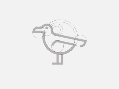 Seagull Icon (grid work)