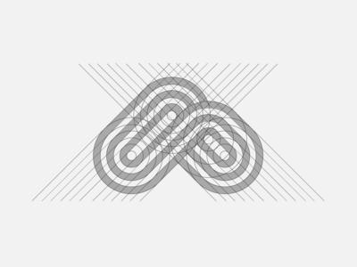 """A"" Monogram Grid"
