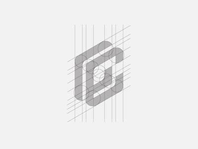 """""""C"""" Monogram Grid"""