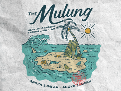 The Mulung badge design illustration