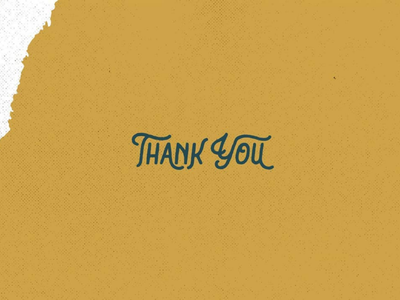Thank You font fonts typeface vintage