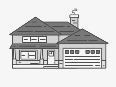 Summer home illustrator design motion 2d after effects