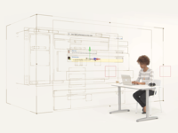 3D wireframes