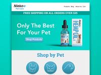 Nieko Pet Co Website