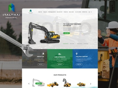 🚜 ITALTHAI x YES WEB DESIGN 🖥