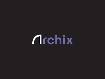 Archix Visuals envelope folder letterhead architecture business card creative branding typography minimalist concept vector logo design