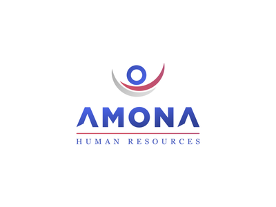 Amona Visuals business card letterhead creative envelope branding illustration typography minimalist concept vector logo design