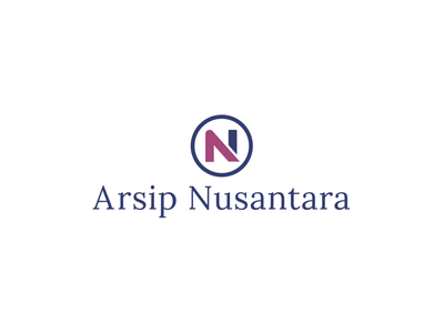 Arsip Nusantara Logo branding illustration typography minimalist concept vector logo design