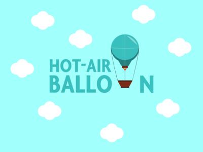 Hot Air Balloon Logo