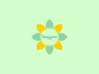 Namaste Yoga Logo 2