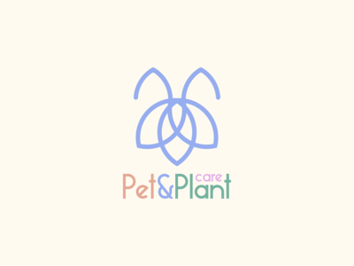 Pet and Plant Logo