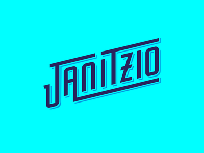 JANITZIO  LETTERING