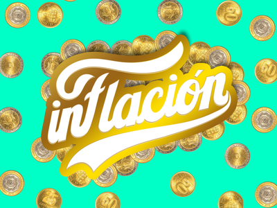 Inflation product design money hand lettering procreate lettering