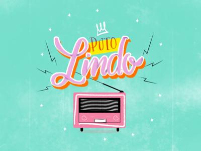 Lettering - Puto Lindo