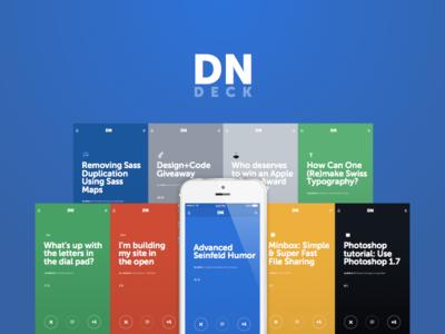 Designer News Deck