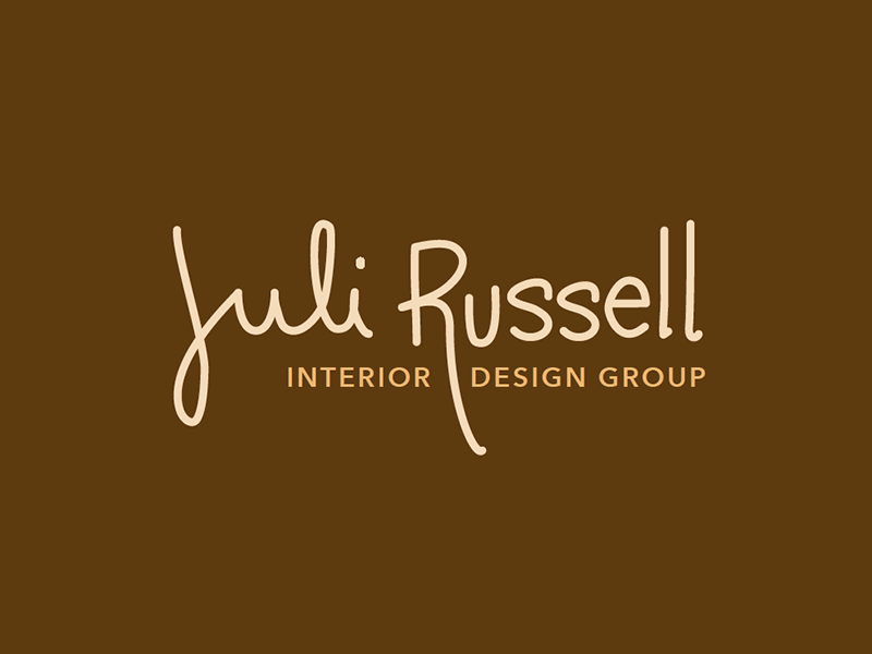 Juli Russell Logo 2 logo handwriting logotype lettering